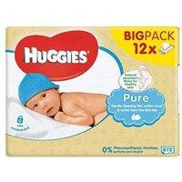 Huggies Baby Pure Wipes (12 x 56 pk.)