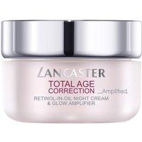 Lancaster Total Age Correction Amplified Retinol-in-Oil Night Cream & Glow Amplifier SPF 15 (50ml)