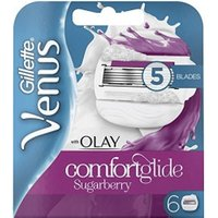 Gillette Venus Comfortglide Sugarberry with Olay Razor Blades (5 pack)