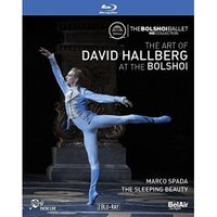 The Art of David Hallberg at the Bolshoi - Marco Spada / The Sleeping Beauty (Dornröschen) [Blu-ray]