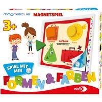 Noris Magneticus Spiel mit mit - Formen & Farben (german)
