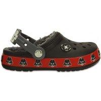 Crocs Kids' Crocband Darth Vader Fuzz Lined Clog black