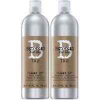 Tigi Bed Head For Men Clean It Up Shampoo & Conditioner Duo (2 x 750ml)