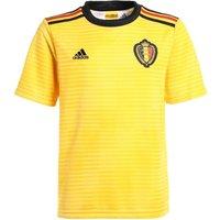 adidas Childrens Belgium Home Shirt, Childrens, BQ4537, Bold goldBlackVivred, 152.0