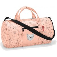 Reisenthel Kids Mini Maxi Dufflebag cats and dogs rose