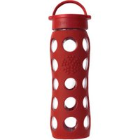lifefactory Glass Bottle Classic Cap 0.65L Red