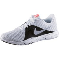 Nike Flex TR8 Women white/metallic silver/black/total crimson