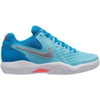 Nike NikeCourt Air Zoom Resistance Women bleached aqua/hot lava/neo turquoise/metallic silver