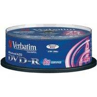 Verbatim DVD-R 4,7GB 120min 8x 25pk Spindle