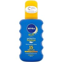 Nivea Protect & Moisture spray SPF 15 (200 ml)