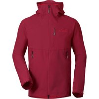 VAUDE Men's Roccia Softshell Hoody dark indian red
