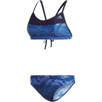 Adidas Colourblock Beach Bikini noble ink/chalk purple