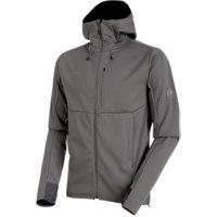 Mammut Ultimate V SO Hooded Jacket Men titanium-black