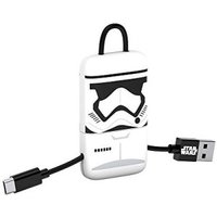 Tribe Star Wars micro-USB Cable 0,22m Stormtrooper