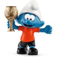 Schleich Football Smurf with trophy (20807)