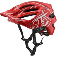 Troy Lee Designs A2 MIPS pinstripe red