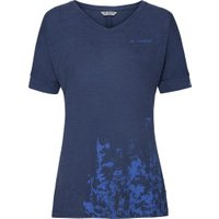 VAUDE Women's Skomer V-Neck Shirt sailor blue