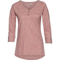 VAUDE Women's Elassona 3/4 Shirt red cluster