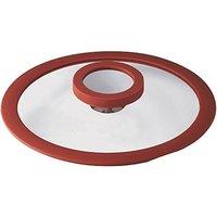 Sambonet 12'O'Clock lid 14 cm red