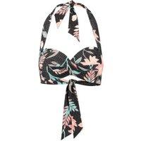 Seafolly Bali Hai Twist Soft Cup Halter Bikini Top black (30806-191)