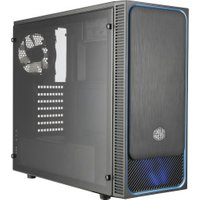 CoolerMaster MasterBox E500L Window blue