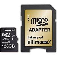 Integral UltimaPro X Gold microSDXC 128GB