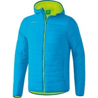 Erima Quilted Jacket Women curacao / neon yellow