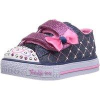 Skechers Shuffles Glitter Crush denim/pink