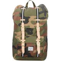 Herschel Little America Backpack woodland camo/black/white