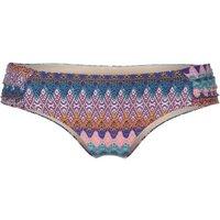 O'Neill Tab Side Bikini Bottom blue aop pink/red (8A8504-5943)