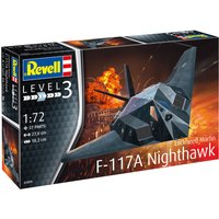 Revell Lockheed Martin F-117A Nighthawk Stealth Fighter (03899)