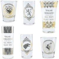 KNK Game of Thrones Liqueur Premium Shot Glasses (Set of 6)