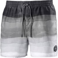 O'Neill Mid Vert Horizon Swim Short white aop black (8A3232-1990)