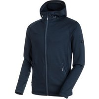Mammut Runbold ML Hooded Jacket Men marine dark melange