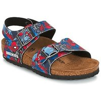 Birkenstock New York Kids Spiderman action blue