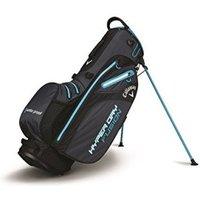 Callaway Hyper Dry Fusion Standbag titanium/black/neon blue