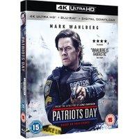 Patriots Day (4K UHD + Digital Download) [Blu-ray] [2017]
