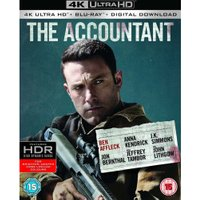 The Accountant (4K UHD + Digital Download) [Blu-ray] [2016]