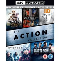 The Action Collection: The Huntsman: Winters War / Warcraft / Lucy / Everest / Battleship (4K UHD) [Blu-ray] [2017]