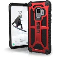 Urban Armor Gear Monarch Case (Galaxy S9) crimson