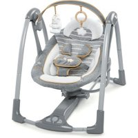 Ingenuity Boutique Collection Swing 'n Go Portable Swing Bella Teddy