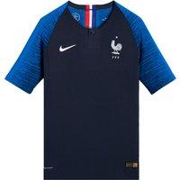 Nike France Vapor Match Home Shirt Youth 2018