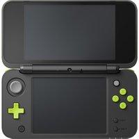 Nintendo New 2DS XL black green + Mario Kart 7
