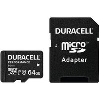 Duracell microSDXC Class 10 UHS-I 64GB Kit