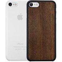 Ozaki O!coat 0.3 Jelly + Wood 2in1 (iPhone 7/8) clear/brown