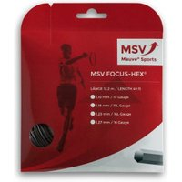 MSV Mauve Sport Focus Hex 12 m 1,23mm black