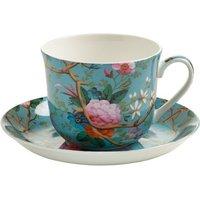 Maxwell & Williams Breakfast Cup with Saucer 460 ml  Victorian Garden