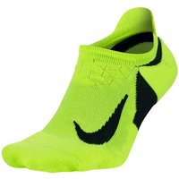 Nike Elite Cushioned No-Show volt/schwarz/schwarz