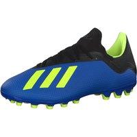 adidas Mens X 18.3 Ag Footbal Shoes, Solar YellowCore BlackFootwear White 0, 8.5 UK