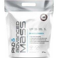 PHD Advanced Mass Powder 2.7kg Chocolate Fudge Brownie